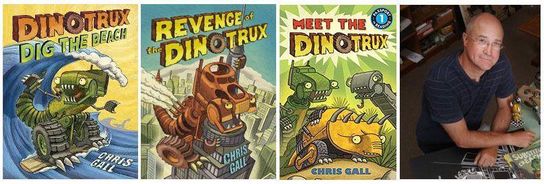 libros-dinotrux-chris-gall