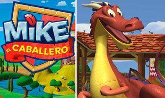 Personajes Mike Dragon rojo