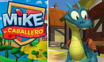 Personajes Mike dragon azul