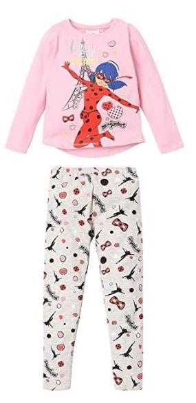 pijama ladybug rosa