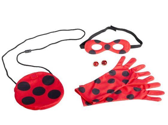 Accesorios disfraz ladybug