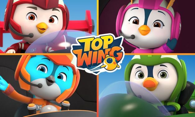 Personajes Top Wing