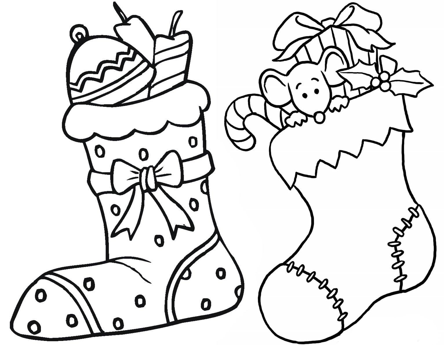 ▷▷Dibujosfaciles.es - Dibujos de Navidad para colorear