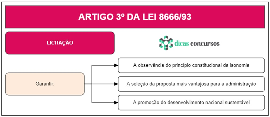 Art 3 da Lei 8666 - Comentado