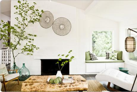 decoracao casa ecologica Decoração Ecológica
