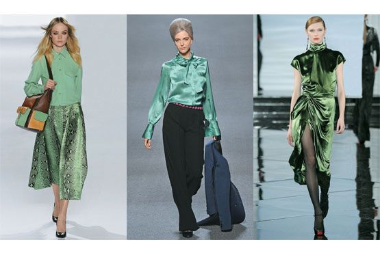 3 Tendência: Verde esmeralda