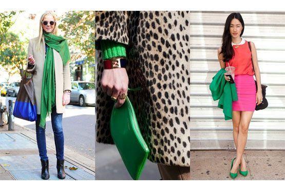 6 Tendência: Verde esmeralda