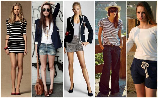 modelos moda navy Moda navy