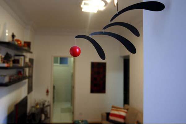 mobiles pendentes na decoracao Móbiles e pendentes na decoração