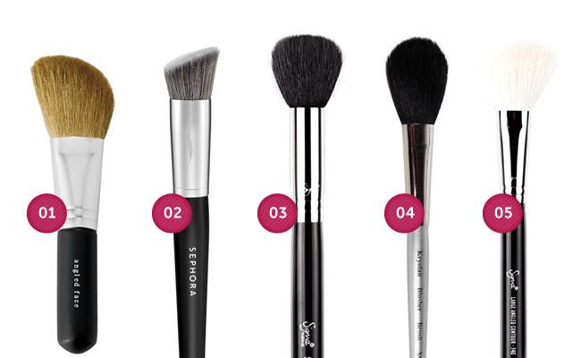 contorno Guia do pincel de maquiagem: aprenda a fazer as escolhas certas