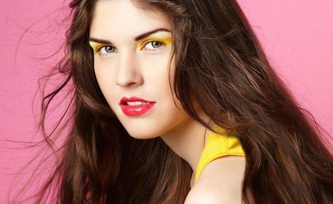 Resultado de imagem para maquiagem colorida