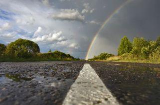 Você consegue alcançar o fim do arco-íris?