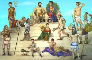Os doze deuses do Monte Olimpo