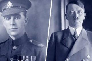 Hitler sobreviveu à Primeira Guerra Mundial porque um soldado britânico lhe mostrou misericórdia?