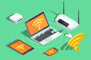 Como os dispositivos determinam a força dos sinais Wi-Fi?