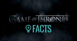 40 fatos de Game of Thrones