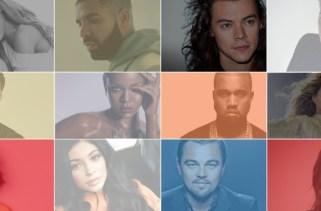 20 celebridades mais populares e tendências de 2019