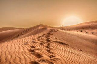 Um deserto está coberto de areia, mas o que há por baixo?