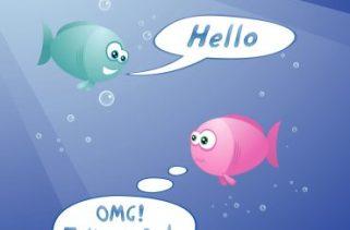 Como os peixes se comunicam entre si?