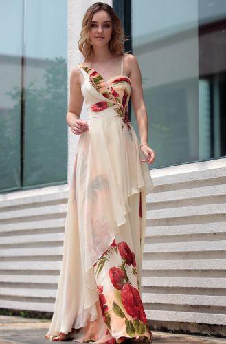 """fc24c139bd ... Modelos de Vestidos de Festa Estampados 8 Modelos de Vestidos de Festa  Estampados. """""""