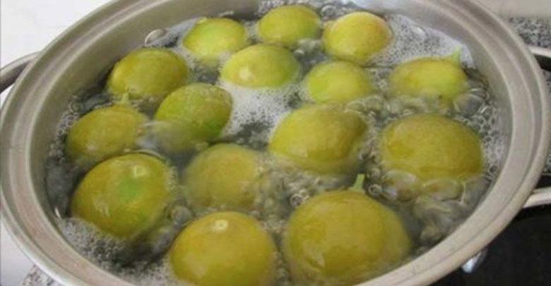 limão fervido