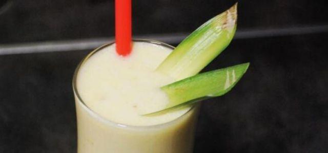 receita de batida de abacaxi e coco