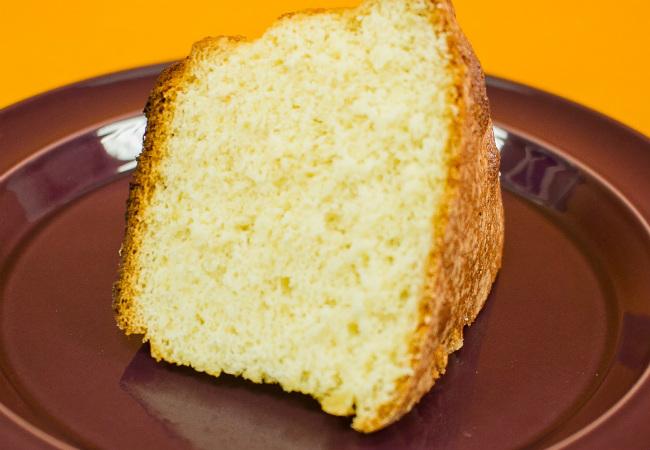 bolo simples d'água