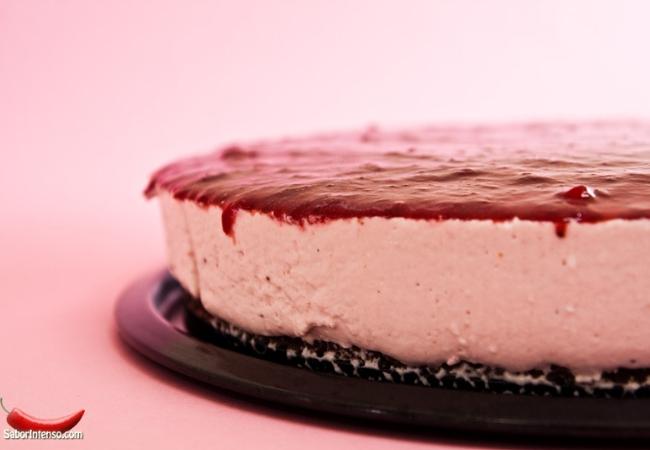 receita de cheesecake morango