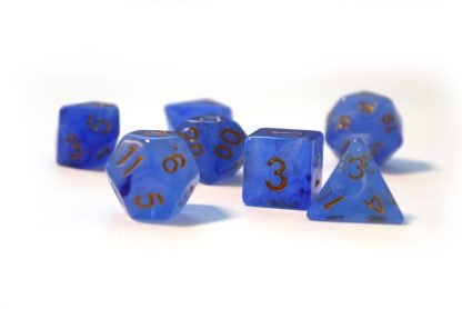 RPG Wuerfel Set Blue Lagoon