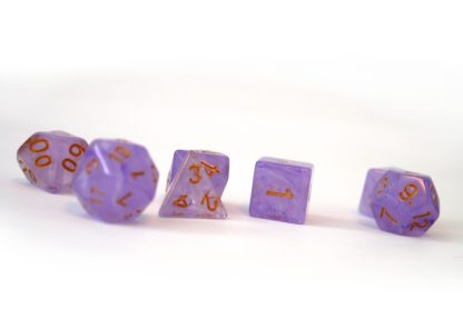 RPG Wuerfel Set Purple Rain
