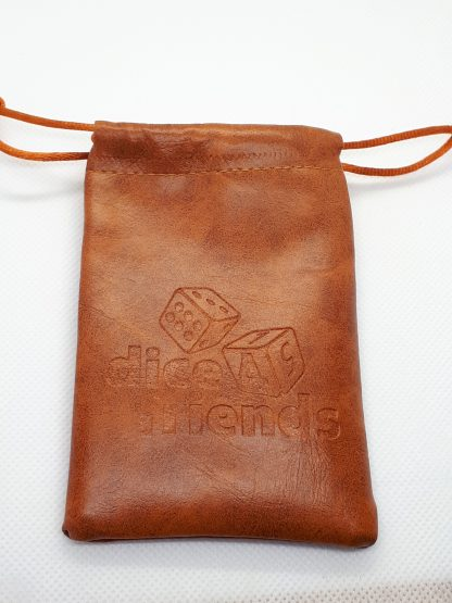 RPG Wuerfel Set Dice Bag Brown