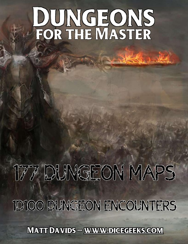 RPG Dungeon maps