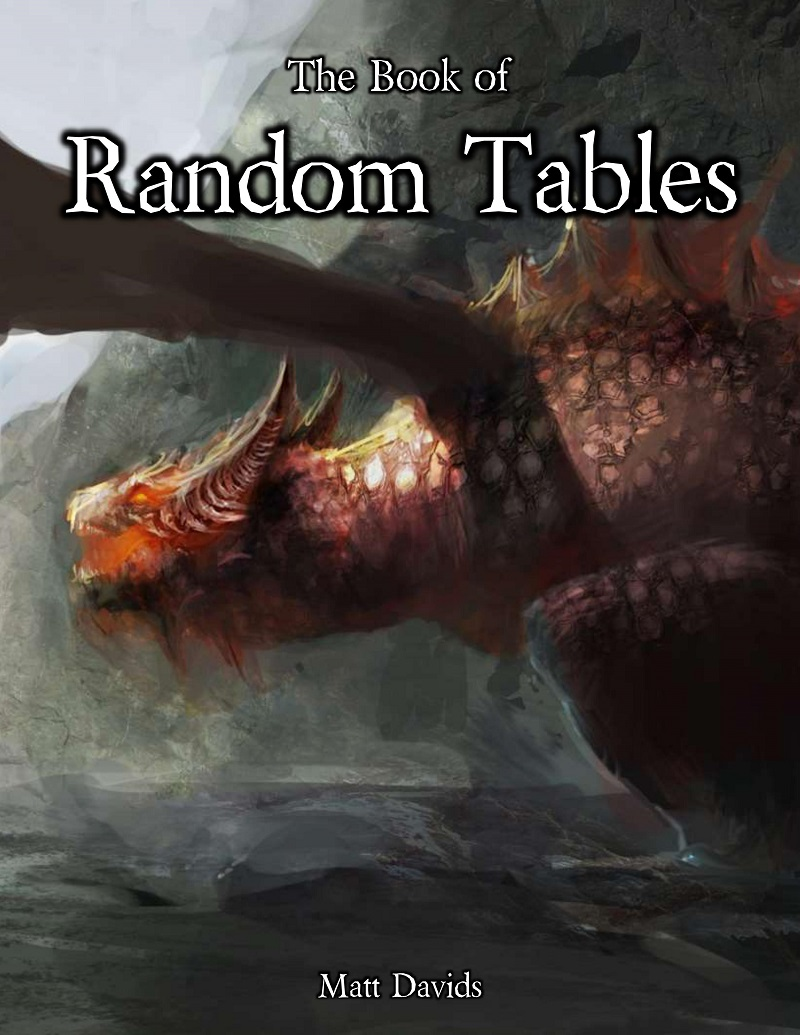 random RPG tables