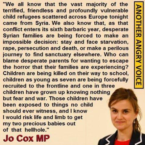 Jo Cox MP RIP