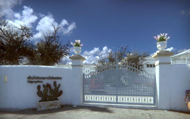 Entrance - Final version rendering