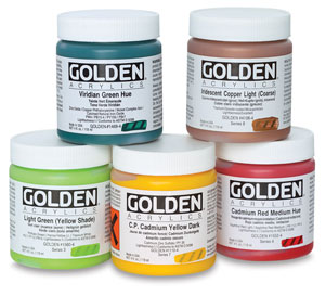 Golden Heavy Body Artist Acrylics 4 oz