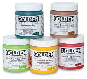 Golden Heavy Body Artist Acrylics 4 oz