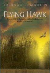 Flying Hawk by Richard L Martin