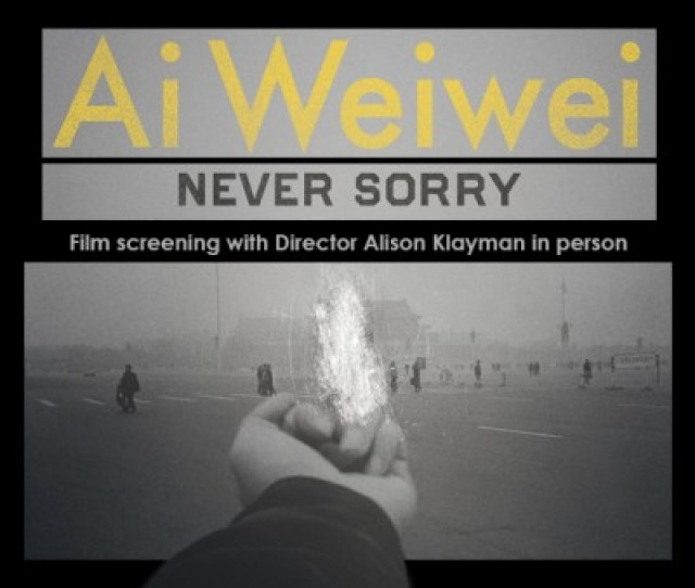 Experience The Inside Story Of Artist Ai Weiwei A Digital Age Dissident Who Inspires Global Audiences While Blurring The Boundaries Of Art And Politics