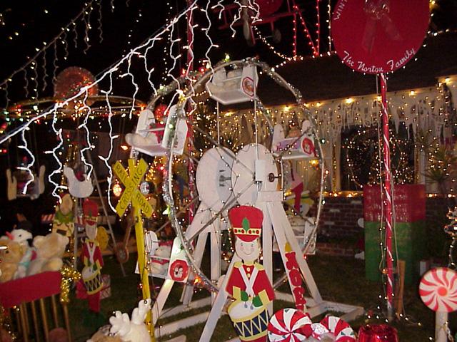 Christmas Ferris Wheel Lawn Decoration