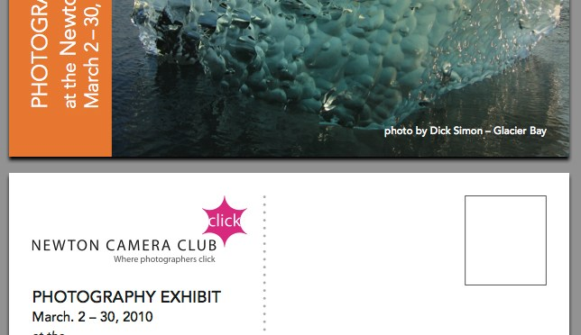 YOU ARE INVITED – Newton Camera Club Library Show 3/2-3/30