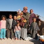Bedouin Family, Palmyra, Syria