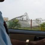 Hurricane-Damaged Greenhouses, Santiago