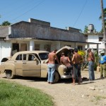 Most Cubans become master mechanics to maintain automobiles and other machinery.