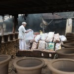 Preparing fuel for kiln