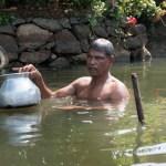 Bathing, Kerala