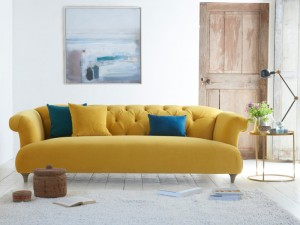Essential Living Room Items In Key Colours Grey Teal And Mustard Dickson Vintage