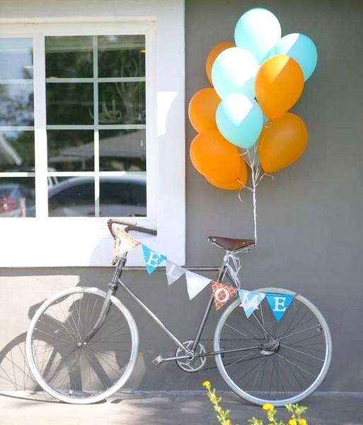 Como Triciclo Para Adornar Primavera Un