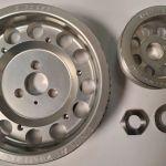 DICorse Ergal Lightweight Pulley Set (Fiat/Abarth 1.4T Engine)
