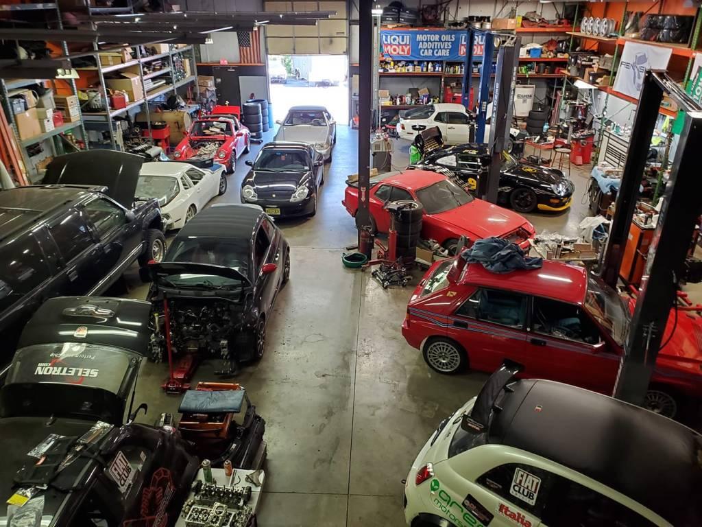 DICorse Garage Filled